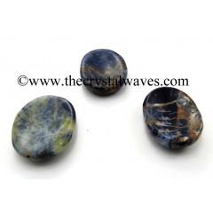 Sodalite Worry Stones / Thumb Stones