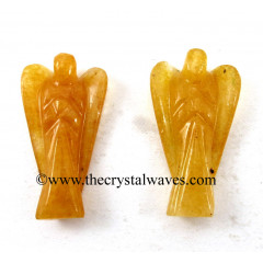 "Yellow Aventurine 1.50"" Angels"