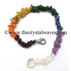 Chakra Chips Pendulum Chain Cum Bracelet