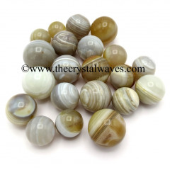 Lace Agate Small 15 - 25 mm Ball / Sphere