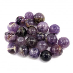 Amethyst Good Quality Small 15 - 25 mm Ball / Sphere