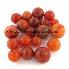 Carnelian Small 15 - 25 mm Ball / Sphere