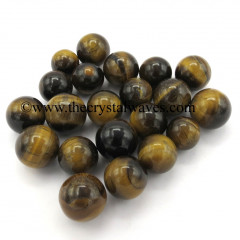 Tiger Eye Agate Small 15 - 25 mm Ball / Sphere