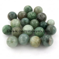 Green Aventurine (Light) Small 15 - 25 mm Ball / Sphere