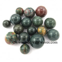 Blood Agate Small 15 - 25 mm Ball / Sphere