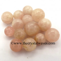 Rose Quartz Regular Grade Small 15 - 25 mm Ball / Sphere