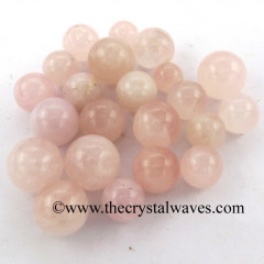Rose Quartz Good Color Small 15 - 25 mm Ball / Sphere