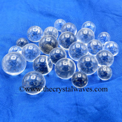 Crystal Quartz A- Grade Small 15 - 25 mm Ball / Sphere