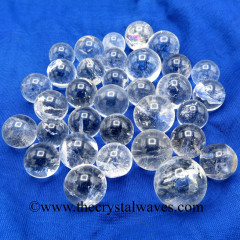 Crystal Quartz AB+ Grade Small 15 - 25 mm Ball / Sphere