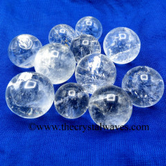 Crystal Quartz AB- Grade Small 15 - 25 mm Ball / Sphere
