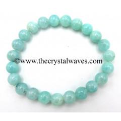 Amazonite Good Quality 8 mm Round Beads Bracelet