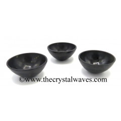 "Black Tourmaline 3"" Bowl"