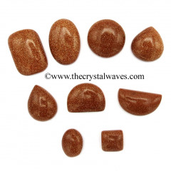 Red Goldstone High Grade Cabochons