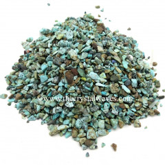 Turquoise Undrilled Chips