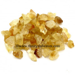Citrine Raw Undrilled Chips