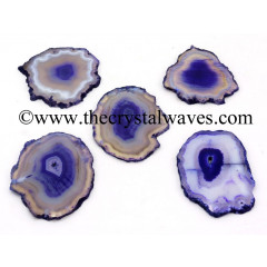 Purple Agate Slices / Coasters
