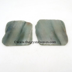 Green Aventurine Slices / Coasters