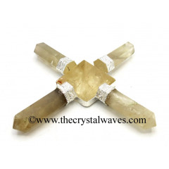 Citrine Quartz Pyramid Energy Generator