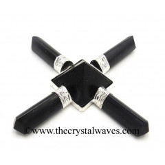 Black Tourmaline Pyramid Energy Generator