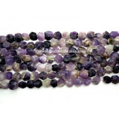 Amethyst Hand Knapped Coin Nuggets
