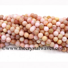 Pink Opal Round Beads