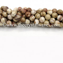 Crazy Lace Agate Round Beads