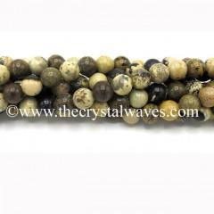 Picture Jasper Round Beads