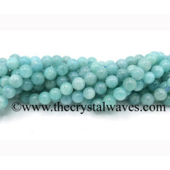 Amazonite Good Quality Round Beads
