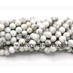 Howlite Round Beads