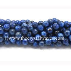 Blue Kyanite Round Beads