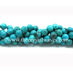 Chinese Turquoise Round Beads