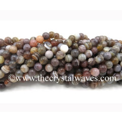 Botswana Agate Round Beads