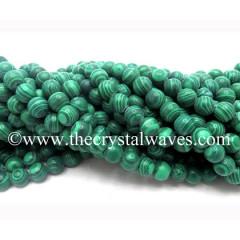 Malachite Manmade 8 mm Round Beads