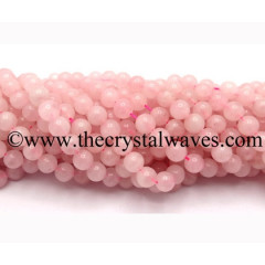 Rose Quartz 8 mm Round Beads