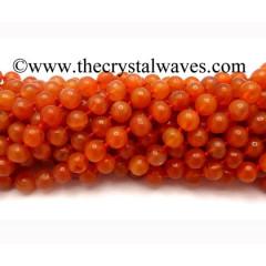 Carnelian 8 mm Round Beads
