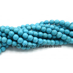 Turquoise Manmade 8 mm Round Beads