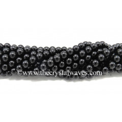Black Tourmaline 8 mm Round Beads