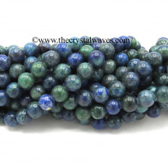 Chrysocolla 8 mm Round Beads