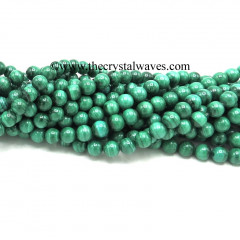 Malachite A Grade Natural Round Beads