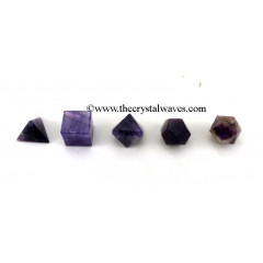Amethyst  5 Pc Geometry Set