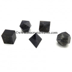 Blue Aventurine 5 Pc Geometry Set