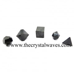Shungite 5 Pc Geometry Set