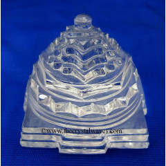 Crystal Quartz Shreeyantra 75 To 100 Grms
