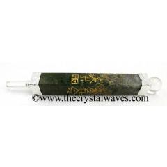 Moss Agate Usui Reiki Healing Stick