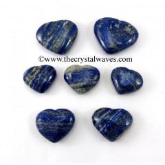 Lapis Lazuli 15 -25 mm Pub Hearts