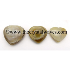 Lace Agate 25 - 35 mm Pub Heart