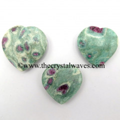 Ruby Zoisite 25 - 35 mm Pub Heart