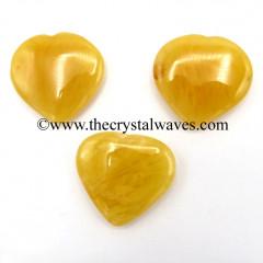 Yellow Aventurine 55mm + Pub Heart