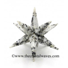Rainbow Moonstone 12 Point Merkaba Star