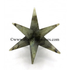 Labradorite 12 Point Merkaba Star